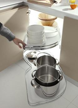 Proyeccion ptima de cocina docrys cocinas - Soluciones para muebles de cocina en esquina ...