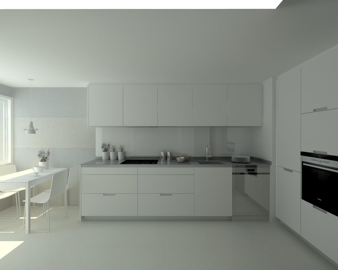 Proyectos de cocinas docrys cocinas - Cocinas con suelo gris ...