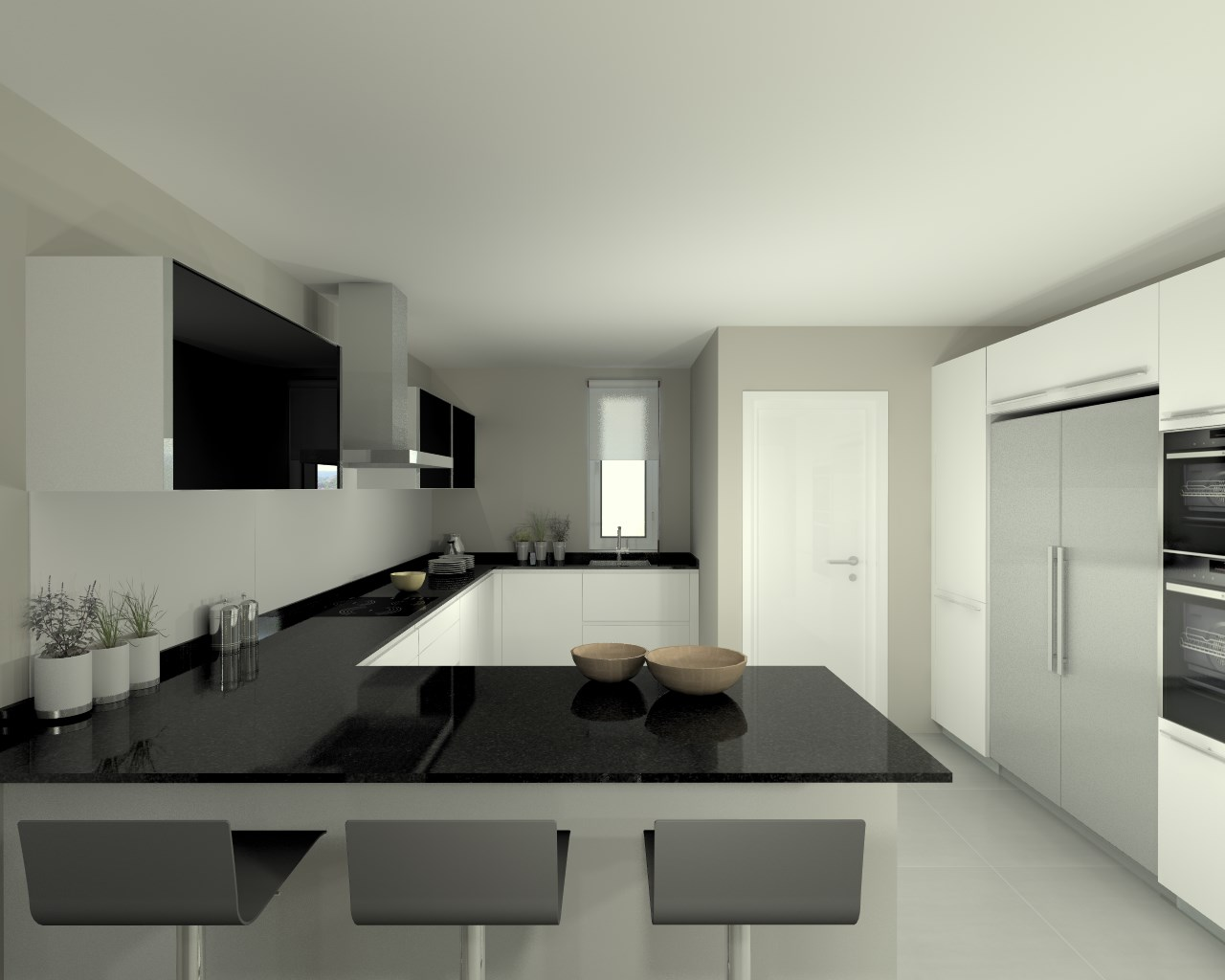 Proyectos de cocinas docrys cocinas for Marmol color negro brasil