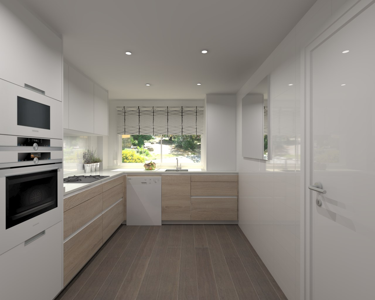 Proyectos de cocinas docrys cocinas - Anchura encimera cocina ...