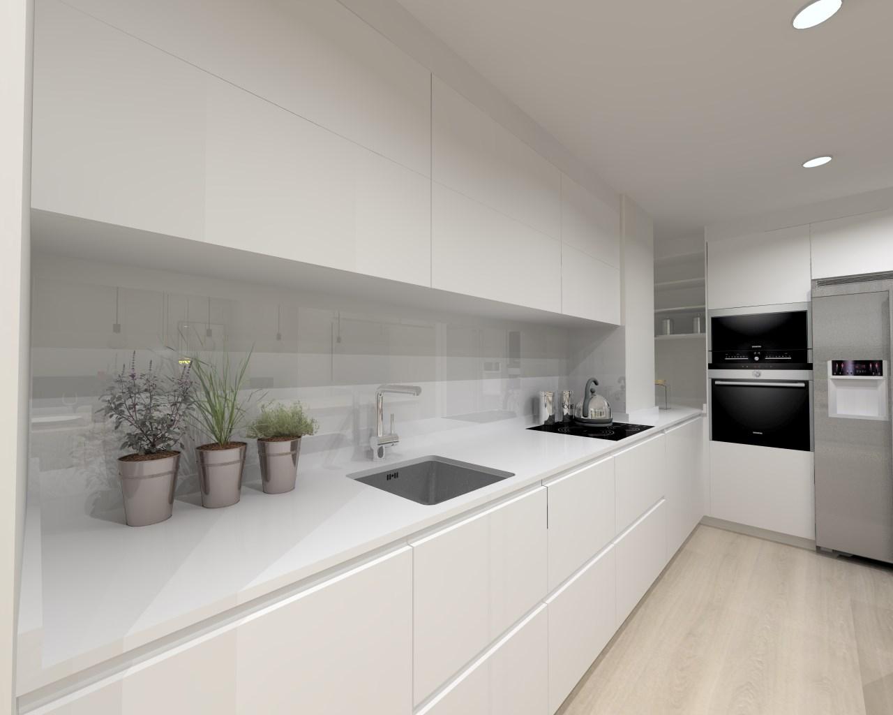 Lenguaje rectangular en una cocina docrys cocinas - Docrys cocinas ...