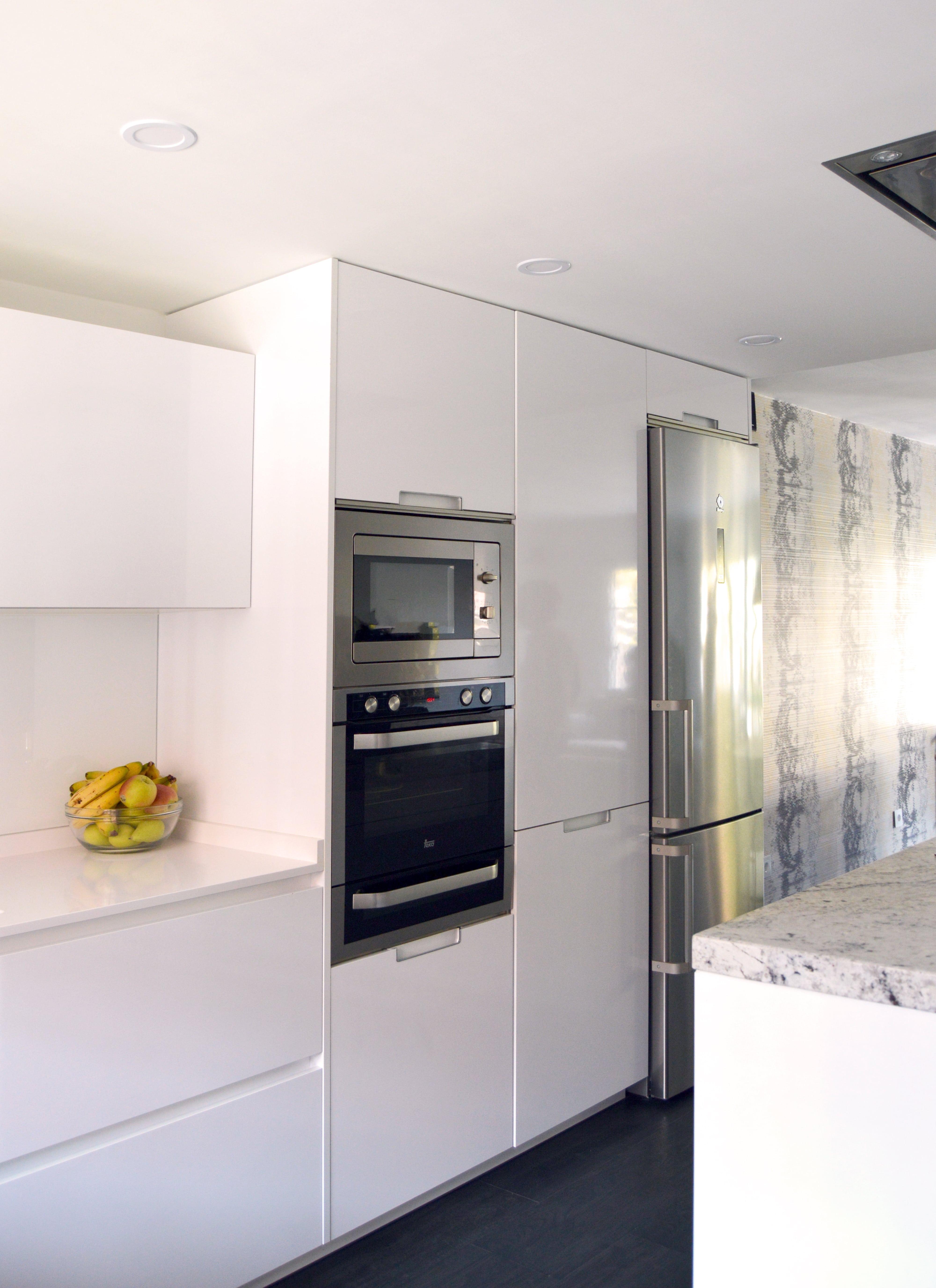Una cocina fusionada con muebles Santos   Docrys Cocinas