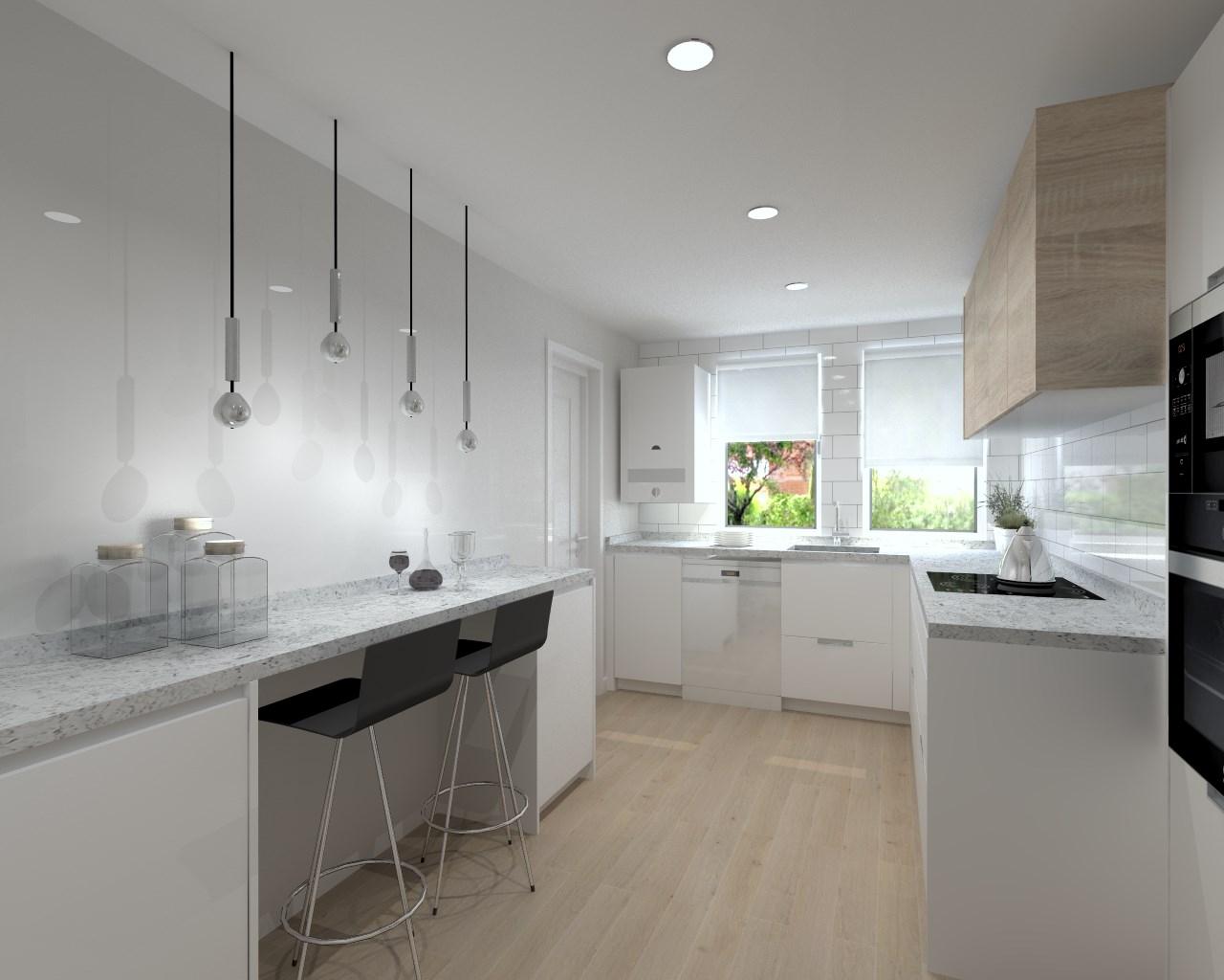 Proyectos de cocinas docrys cocinas - Sobre encimera cocina ...