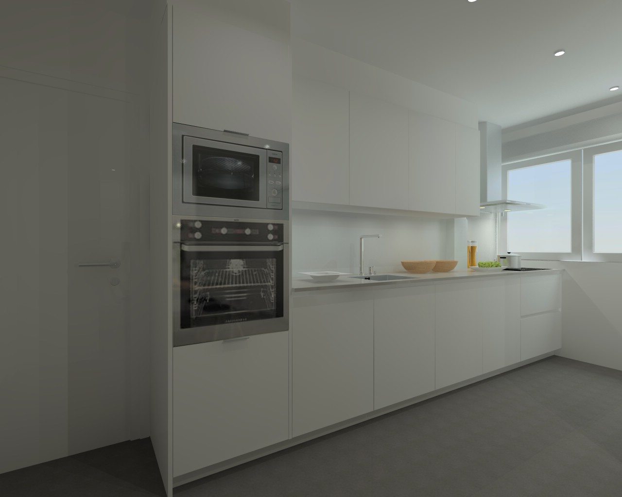 Madrid cocina santos modelo line e encimera techlam - Docrys cocinas ...