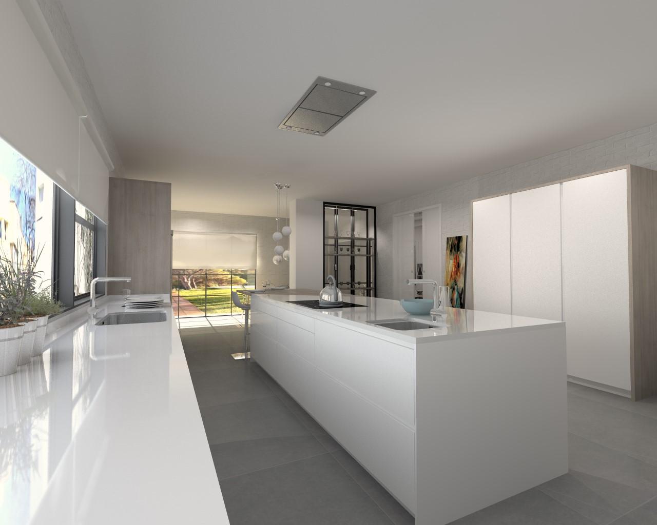 Una cocina de inspiraci n n rdica docrys cocinas for Cocina nordica canal cocina