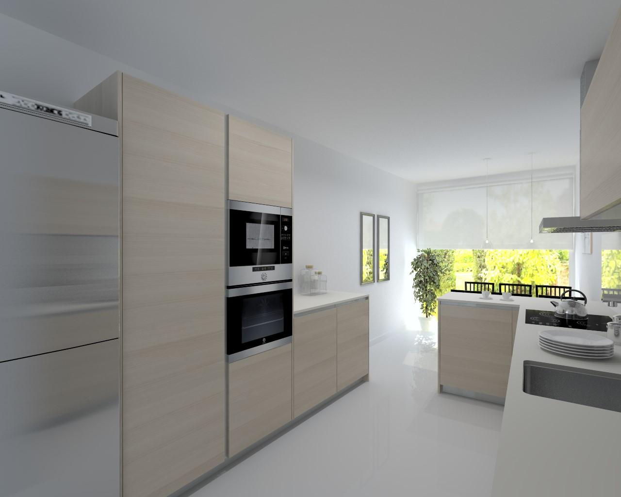 El diseño de una cocina neutra y clásica | Docrys Cocinas