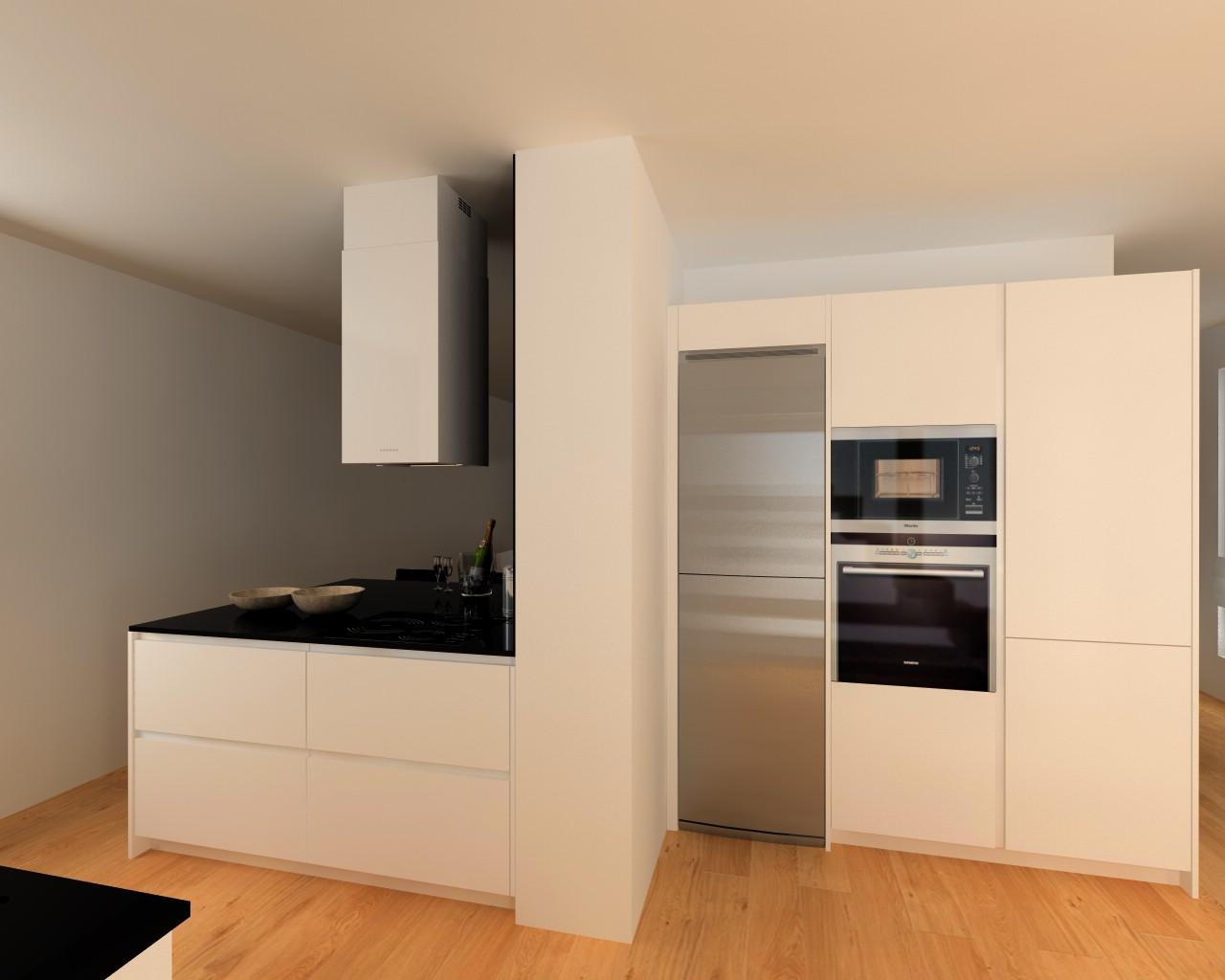 Madrid cocina santos modelo line l encimera granito - Docrys cocinas ...