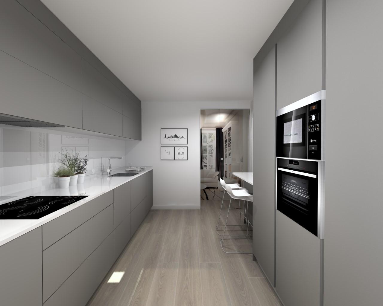 Una cocina nica y moderna docrys cocinas for Una cocina moderna
