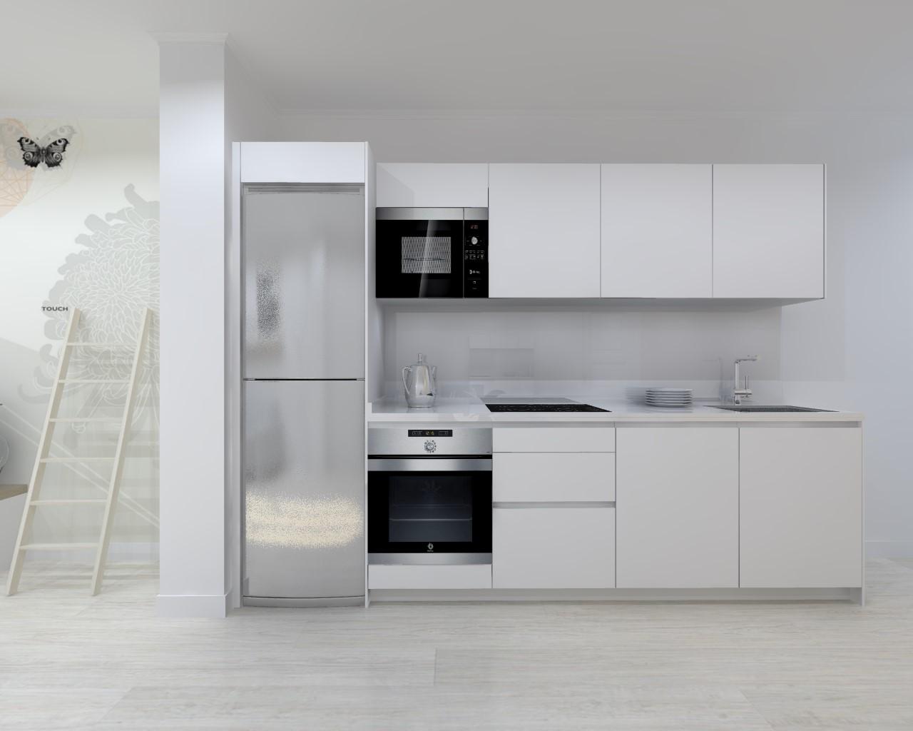 Proyectos de cocinas docrys cocinas for Color plomo