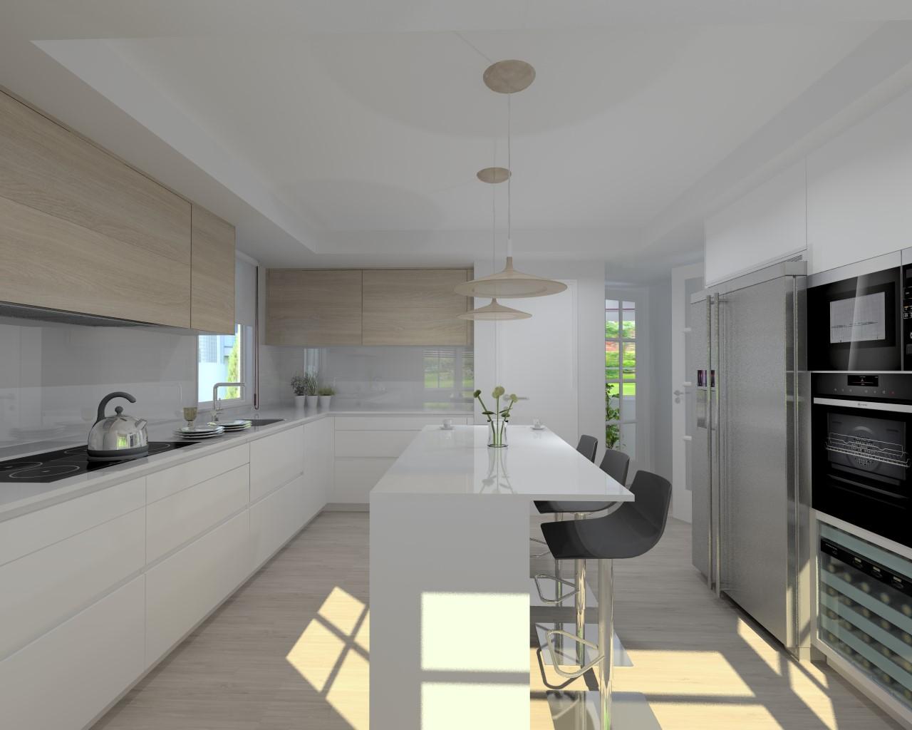 La pureza en las cocinas santos docrys cocinas for M s mobiliario auxiliar para tu cocina s l