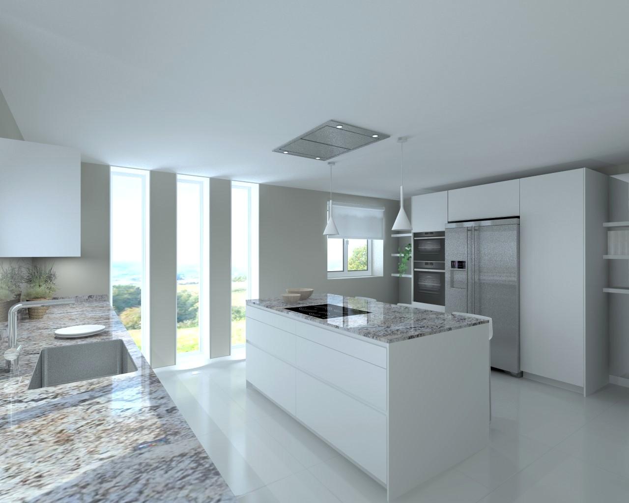 Docrys estudio de cocinas madrid muebles dise o y for Colores de granito importado