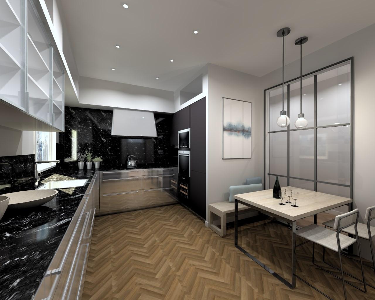 Cocina de diseño de estilo industrial | Docrys Cocinas