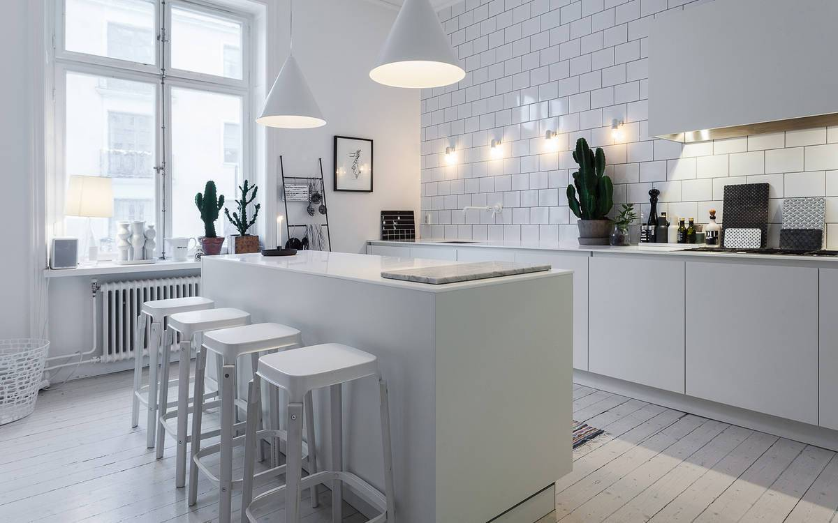 Cocinas con estilo n rdico docrys cocinas for Cocina estilo nordico