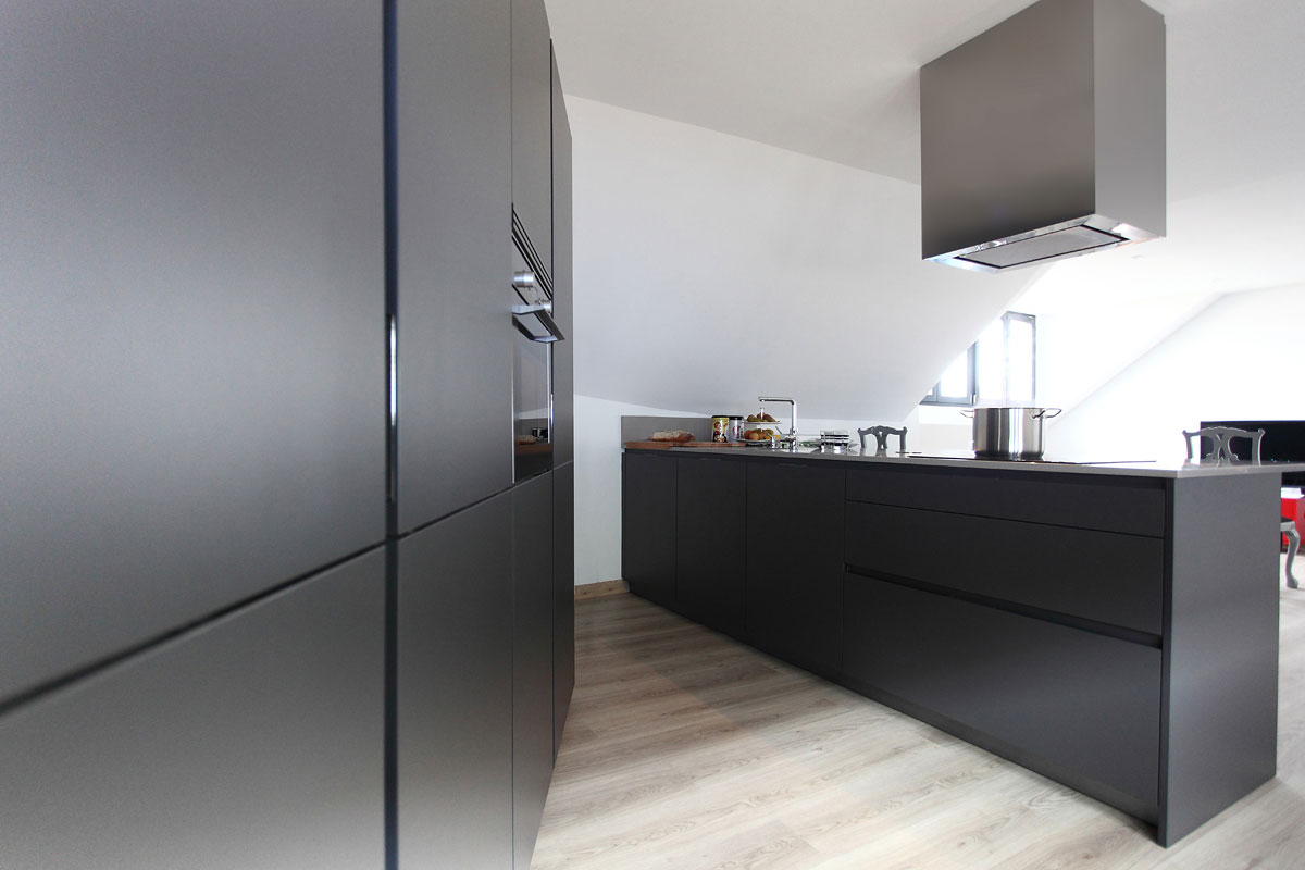 Tendencias en cocinas 2016 2017 docrys cocinas for Suelo cocina gris antracita