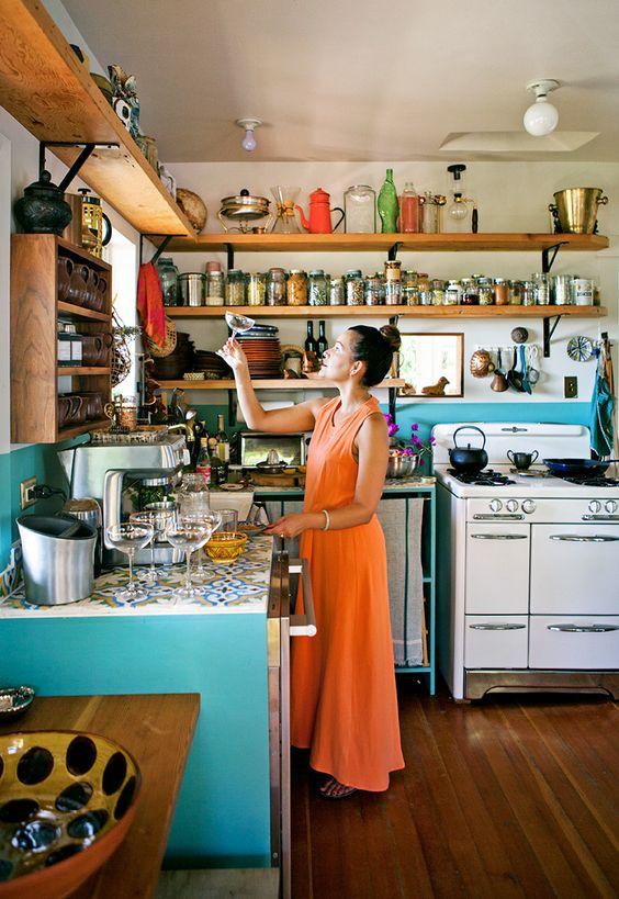 Baldas como solución para decorar tu cocina  d2ab1ba051e2