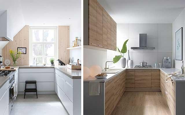 Distintos tipos de distribuici n para cocinas docrys cocinas - Cocinas pequenas en forma de u ...