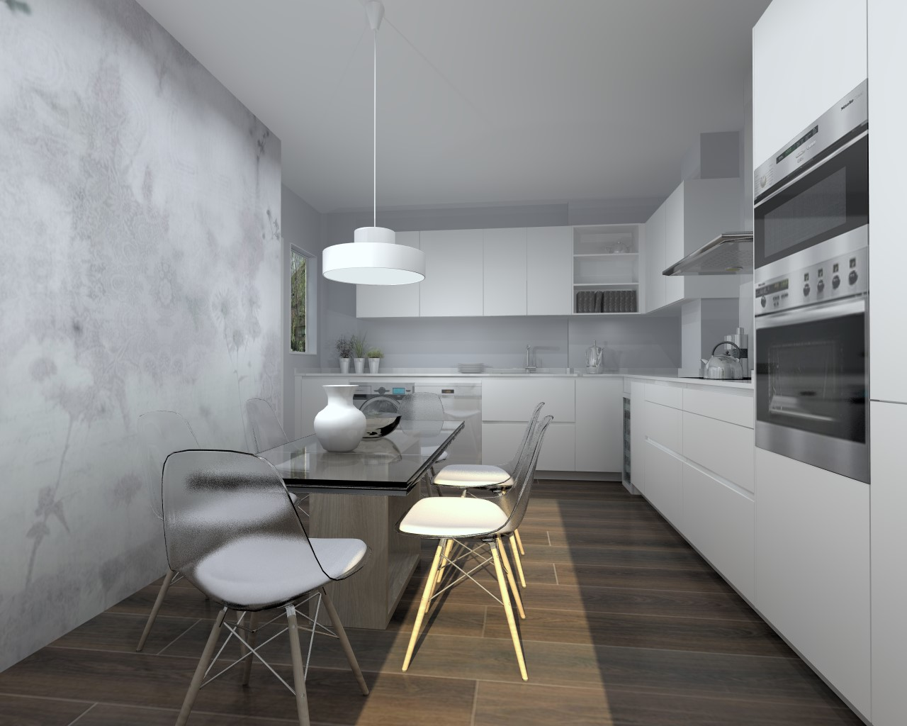 Papeles Pintados Para Cocina Fabulous Nico Decoracin Fcil Cocinas - Papeles-pintados-para-cocinas