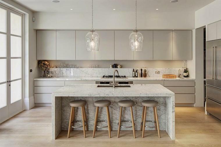 Marmol En Cocina Y Sus Distintos Usos Docrys Cocinas - Cocinas-con-marmol