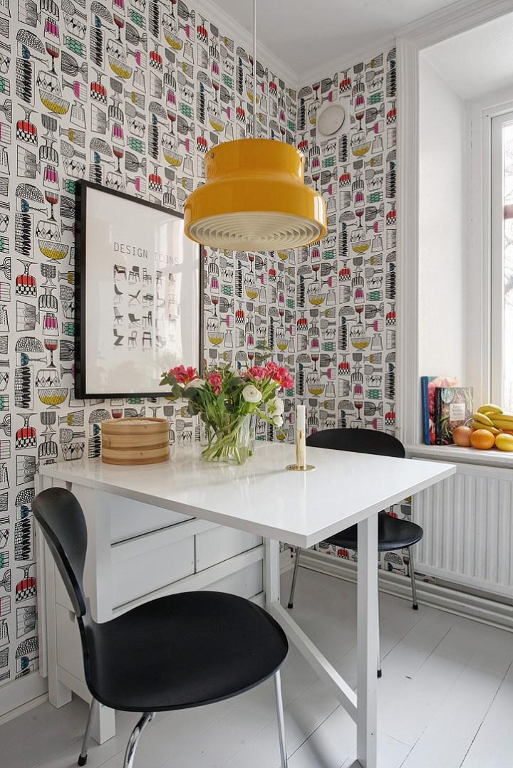 Papeles Pintados Para Cocina | Papeles Pintados En Las Cocinas Docrys Cocinas