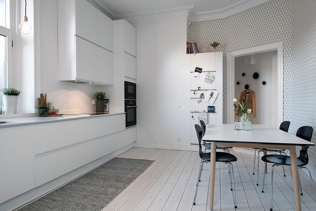 Papel pintado en cocinas docrys cocinas for Papel pintado vinilico cocina