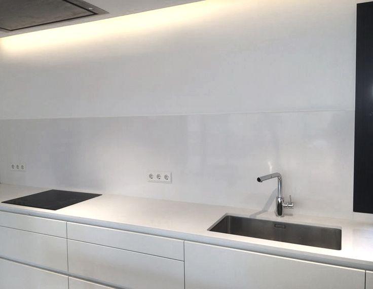 Granito marmol o silestone docrys cocinas - Cocina blanca mate ...