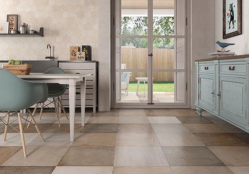 suelos para cada estilo de cocina