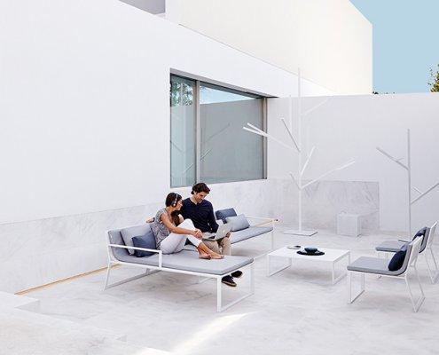 Muebles de exterior de diseño moderno