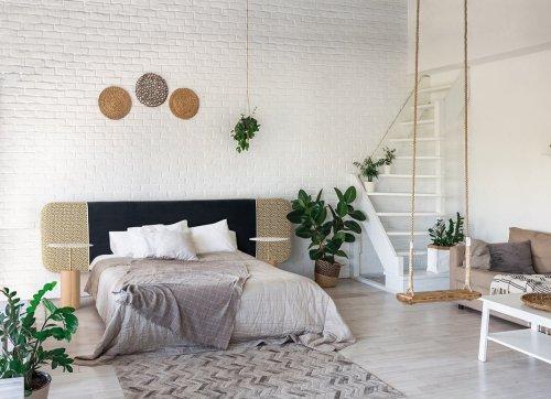 Dormitorio diseño escandinavo