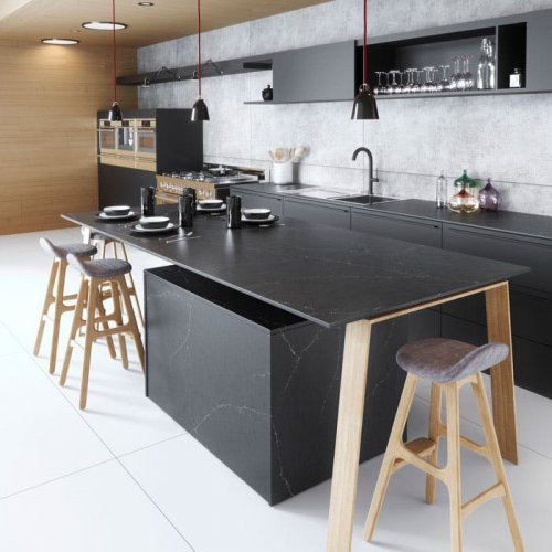 Cuarzo Encimera Silestone Ethernal Charcoal