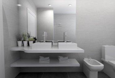 diseño de un baño elegante en madrid
