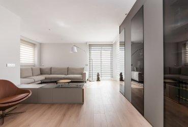 Proyecto interiorismo y decoración de salón y comedor
