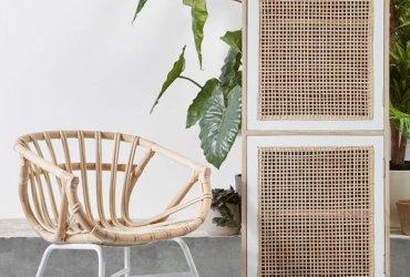Ideas de decoración con mimbre y fibra natura