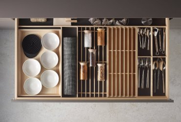 Descubre los accesorios para diseños de Cocinas Santos