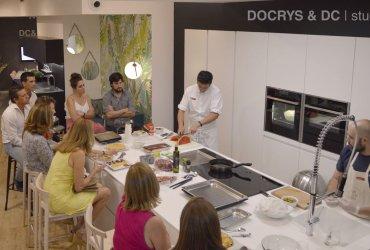 Docrys & DC ofrece para sus clientes su primer Showcooking