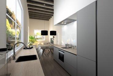 Los pros y los contras de las cocinas blancas
