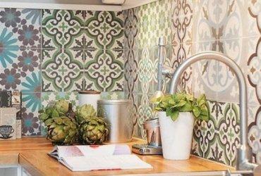 El azulejo artesanal, distinción y estilo retro de tendencia