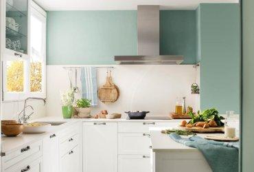 ¿Una cocina blanca sin vida? ¡Dale color!