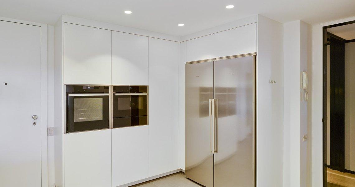 Cocina Blanca Modelo Line-E de Santos