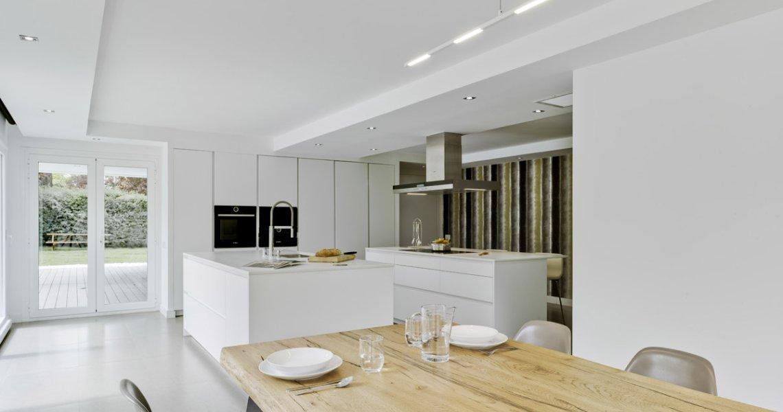 Disfrutar de una cocina luminosa, estética y relajante