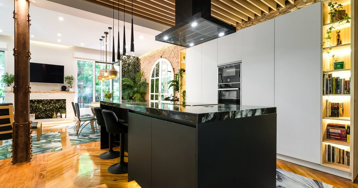 Cocina con Isla reforma Integral