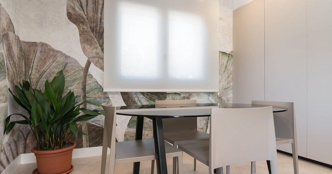 Comedor mesa midi sillas Andreu World