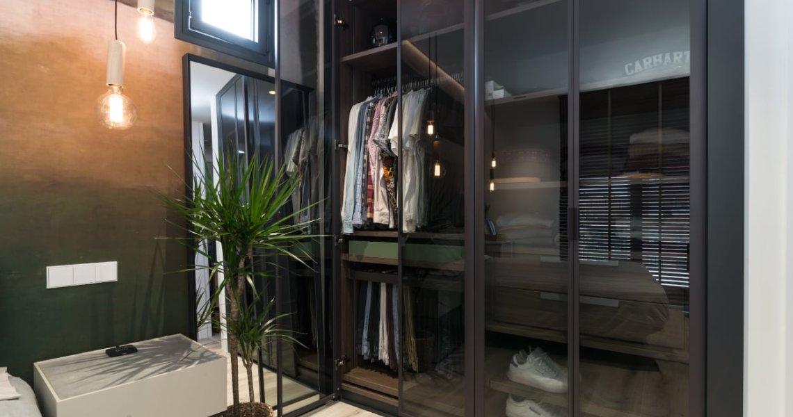 Diseño dormitorio principal armario Emede