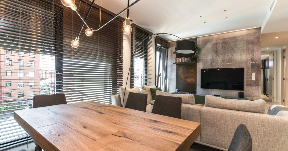 Diseño integral salón mesa comedor Lago