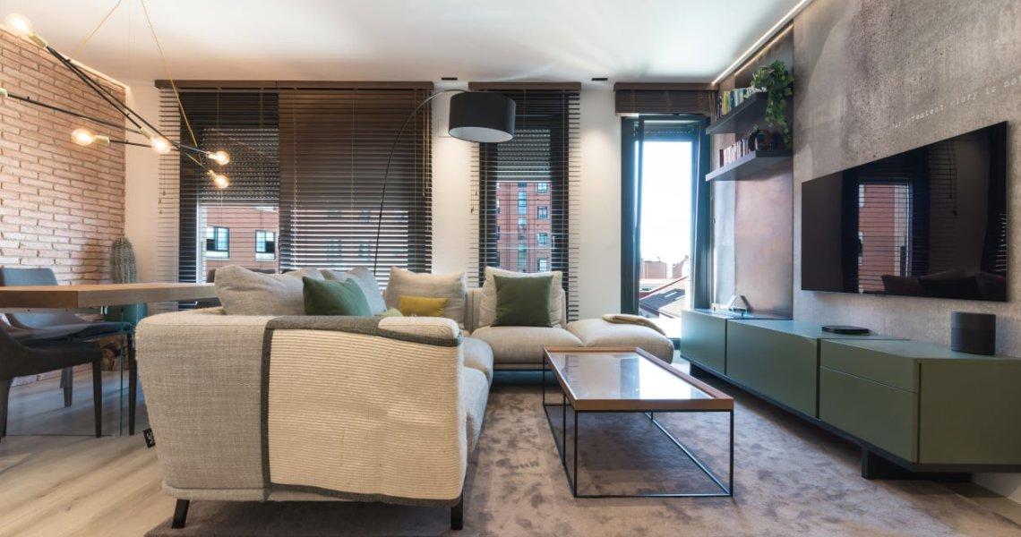 Diseño integral salón-comedor