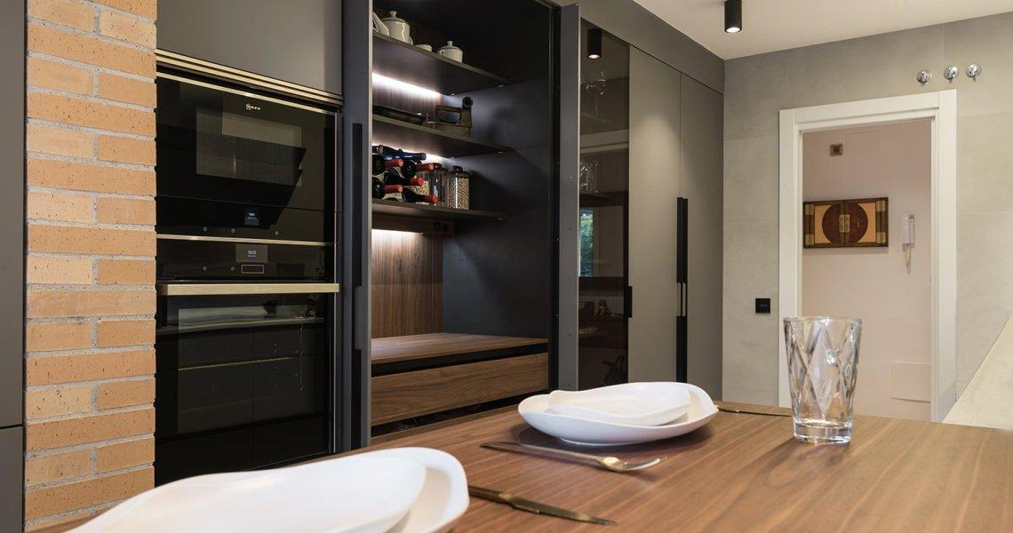 Mueble de cocina de lujo Santos