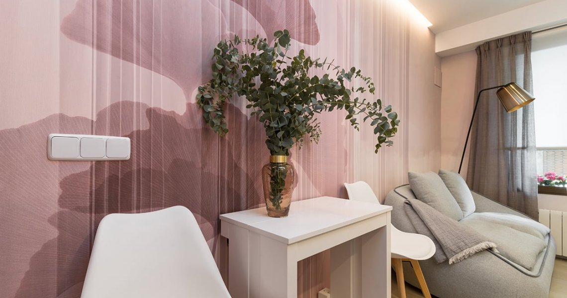 Decoración pared papel Glamora