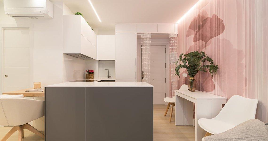Proyecto integral apartamento 30 m2