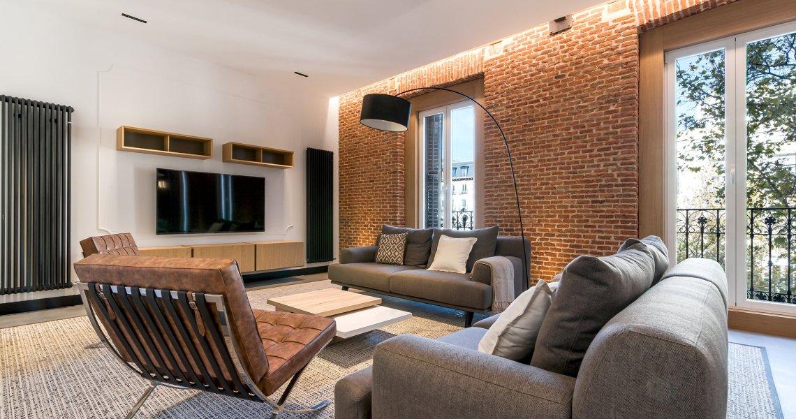 mobiliario y decoración de este proyecto, con las marcas más exclusivas