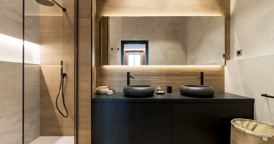 Baño de Diseño, Baño Principal
