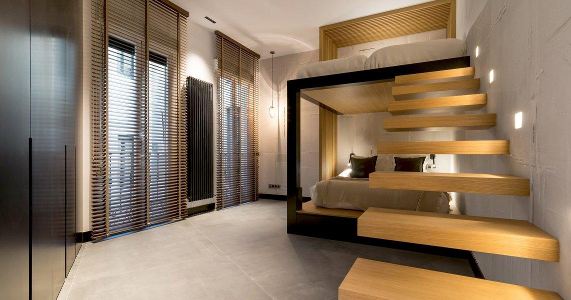 Habitación con un estilo muy propio